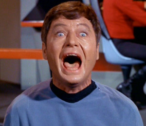 Dr. McCoy in Cordrazine rage