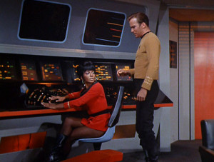 Uhura shutting down Kirk