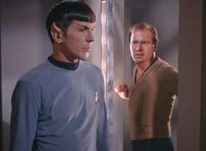 real!Spock with dark!Kirk