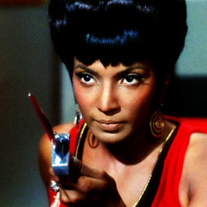 Uhura in the Mirrorverse