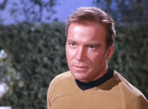 Jim Kirk's unimpressed face