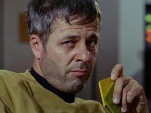 Captain Decker. Douchebag.