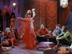 Tara, dancing
