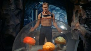 Kirk and some giant brains
