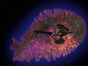 Giant space amoeba.