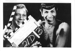 Shatner and Nimoy blooper