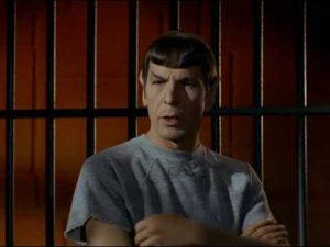 Spock in Space Rome prison
