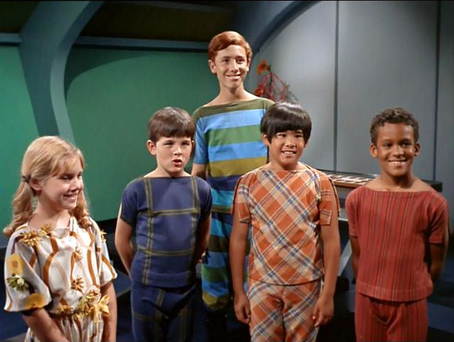 Image result for star trek and the children shall lead