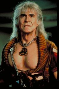 Ricardo Montalban as Khan, looking AMAZING