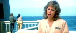 Actress Catherine Hicks as Dr. Gillian Taylor, cetacean biologist.
